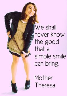 Smile. :)  #quotes #beauty #makeup
