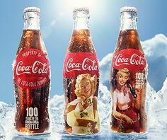 [Coke Bottle 54] 코카-콜라 병 100주년을 기념하여 일본에서 한정판으로 출시한 코카-콜라 병! 클래식한 디자인과 코카-콜라 모습이 정말 잘 어울리죠? 코코도 지금 당장 겟하고 싶은 한정판이에요~