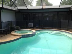Pool Fence In Deltona - Look no further Deltona residents when looking to surround your pool with superior pool safety fence! #PoolSafetyFence #PoolSafety #BabyBarrier