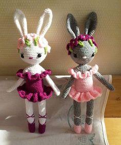Free Crochet Bag, Cute Crochet, Crochet Dolls, Crochet Hats, Crotchet Animals, Knitted Bunnies, Little Girl Toys, Crochet Rabbit, Crochet Butterfly