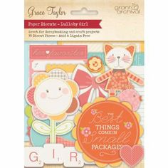 Die Cuts - girls scrapbook