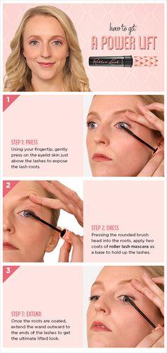 Benefit Mascara, Benefit Roller Lash, Blinc Mascara, Fiber Lash Mascara, Benefit Cosmetics, Mascara Tutorial, Great Lash, How To Feel Beautiful, Tutorials