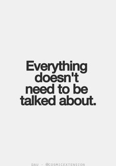 Talk about the things that are really important to you. Don't talk about everything, that's just annoying...just saying