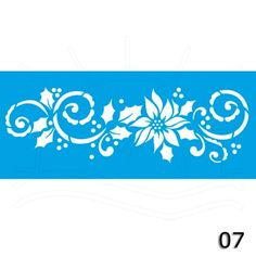 Stencil Natal STNP - 17 x 6,5cm - Bazar Horizonte Mobile