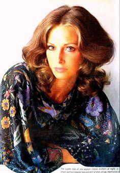 Karen Graham. Photo by Avedon. Vogue Nov 1973.