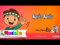 Cancion de despedida - musica infantil ✋ - YouTube Videos, Mario, Family Guy, Youtube, Comics, Fictional Characters, Music Letters, Nursery Rhymes, Going Away