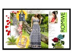 """ROMWE #30"" by nizaba-haskic ❤ liked on Polyvore featuring vintage"