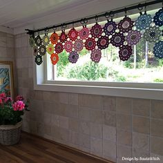 Ravelry: Japanese Flower Pattern pattern by Asa Bautovic /// Laundry room