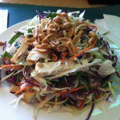 Heavenly Salad from Happy Veggie in Redondo Beach, California.  (VEGAN)