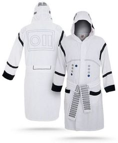 Stormtroopers look awesome -- that's a fact. Being a Stormtrooper, though, probably isn't as awesome, getting bossed around all day and ending up a casualty any minute.   Maybe it's better to just spend your days being a closet Stormtrooper. This Star Wars Stormtrooper Bathrobe should be perfect for chilling out like an elite soldier of the Galactic Empire from the comfort of your own home.  #starwars #stormtrooper #bathrobe #galoo