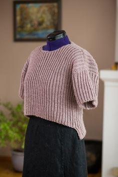 Alpaca Women Hand Knit Sweater  / Women Pullover / Dusty by Imunde