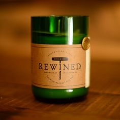 Rewined Wine Candles at Firebox.com