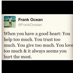 have a good heart