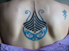 Nordic tattoo idea. Looks like something the avatar- watertribe would have ^^