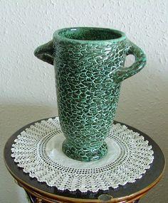 Vase with scaly surface Ceramic Art, Art Deco, Surface, Pottery, Vase, Ceramics, Artwork, Design, Ceramica