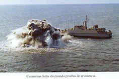 Cazaminas M-32 Sella, Pruebas de resistencia