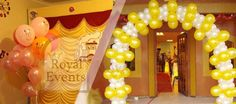 Looking to surprise your #loved ones?   #Royal #Events is there to help you out with your #party #decor. Call us now by logging on to ww.royalevents.com.au