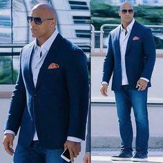 Dwayne the rock, the rock dwayne johnson, rock johnson, rock style men, Chubby Men Fashion, Large Men Fashion, The Rock Dwayne Johnson, Dwayne The Rock, Rock Johnson, Sharp Dressed Man, Well Dressed Men, Outfit Hombre Formal, Rock Style Men