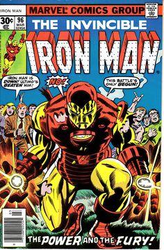 Iron Man 96 1968 1st Series March 1977  Marvel Comics