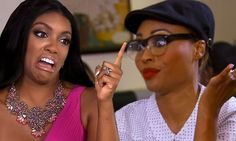 Porsha gets nasty with Cynthia on The Real Housewives Of Atlanta