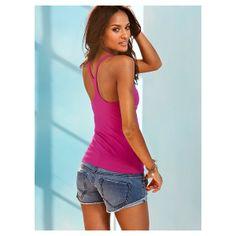 Victoria's Secret - Scoopneck Racerback Bra Top ($26) found on Polyvore