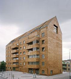 Wingårdhs - The prefabricated, all timber Strandparken housing, Sundbyberg 2014. Via, 2, photos © Rasmus Norlander, Tord-Rickard Sîderstrîm, Devis Bionaz.