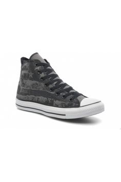 Heren sneakers - Converse Sneakers Chuck Taylor All Star Destroyed Us Flag Hi M