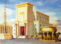Holy Temple built by King Solomon