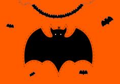 Si quieres ser el rey de halloween… ¡crea aquí guirnaldas terroríficamente divertidas!  Imprime tantas plantillas como guirnaldas necesites y recórtalas por el borde marcado con mucha paciencia. Posteriormente, agujerea los puntitos marcados en ambos lados e introduce el hilo uniéndolas. Por último, cuélgalas en la pared. ¡Y a disfrutar de la fiesta! #DIY #Guirnaldas #Halloween