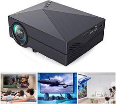 Mini projecteur LCD LED home cinema 1000 Lumens 1920 x 1080 P HDMI AV USB 2 VGA www.avalonlineshopping.com  68465465