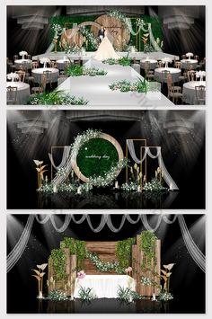 Log color Sen wedding effect map & Models Decor Wedding Backdrop Design, Wedding Stage Design, Wedding Reception Backdrop, Wedding Stage Decorations, Backdrop Decorations, Wedding Designs, Backdrops, Wedding Background, 3d Models