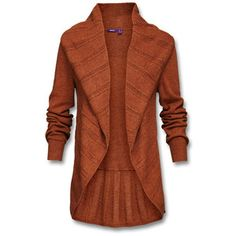 Vest zonder sluiting, met brede ajourrand en sjaalkraag, van soepele materialenmix met viscose. - in de Mexx Online Shop Belgie