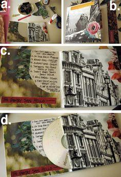 DIY Custom CD Sleeve for your Mixtape! (Really simple)