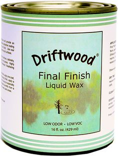 Driftwood Final Finish Liquid Wax Pint, Non-Toxic Liquid Furniture Wax Maintains Your Driftwood Weathered Wood Finish and Creates An Easy Wax Finish over Chalk Paint - Driftwood 4 Us Driftwood Furniture, Driftwood Projects, Furniture Wax, Driftwood Art, Driftwood Ideas, Driftwood Sculpture, Painted Driftwood, Aquarium Driftwood, Driftwood Table