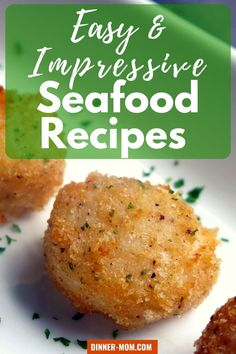 Find the perfect easy and IMPRESSIVE seafood recipe for your dinner celebration! We've included only the best recipes that are special occasion-worthy and easy enough for a weeknight dinner.