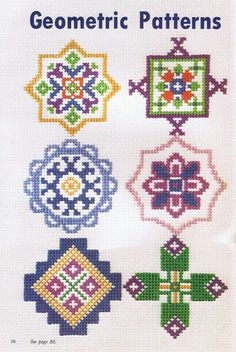 Palestinian cross stitch