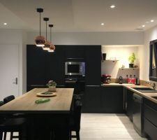 Decoration, Kitchen Island, House Design, Construction, Home Decor, Photos, Ikea Kitchen, Matte Black, New Life