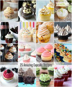 25 Decadent Cupcake Recipes - The Idea Room