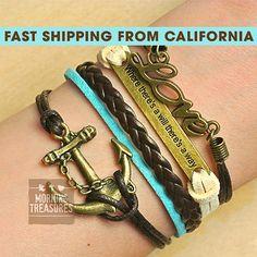 Bracelet Infinity Bracelet Love Bracelet by MorningTreasures, $7.99