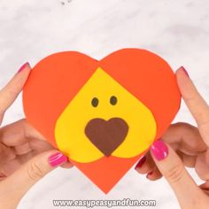 Make this heart lion craft that makes the coolest little V-day card to give to that someone special or to friends. Tech Logos, Google Chrome, Hyacinth Flowers, Website, Crafts, Handmade Crafts, Craft, Crafting, Artesanato