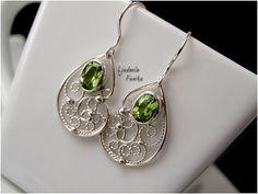 Peridot filigree earrgins | Flickr - Photo Sharing!