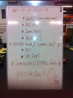 Killer crossfit workout