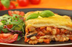 National Vegetarian Week Aubergine Lasagne