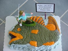Image result for fish cake CAKES Pinterest Fish and Cake