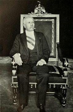 José de la Cruz Porfirio Díaz Mori, Presidente de México, de 1876 a 1911