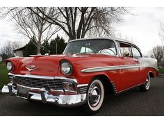 Chevrolet : Bel Air/150/210 1956 CHEVY BEL AIR 2 D - http://www.legendaryfinds.com/chevrolet-bel-air150210-1956-chevy-bel-air-2-d/