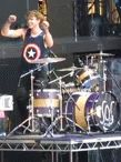 And here we have an Australian drummer doing the dance of the white girl!