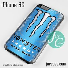 Monster Energy Drink Ultra Blue Phone Case For IPhone 6 And Other IPhone  Devices