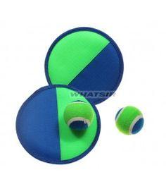 Velcro #CatchBall Kids #Outdoor Game Character Soft Disc Velcro Ball Game Set