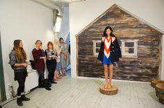 NYFW 2013  Designer: Lauren Moffatt  Lead: David Cruz for  Cutler/Redken  2/6/12